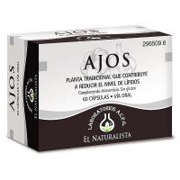 Ajos envase de 60 cápsulas del fabricante El Naturalista (Sistema Circulatorio)