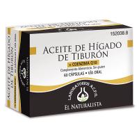 Aceite de Hígado de Tiburón de 60 cápsulas de la marca El Naturalista (Sistema Inmunológico)