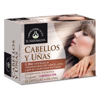 Cabellos y Uñas de 48 cápsulas del fabricante El Naturalista (Cuidado del Cabello)