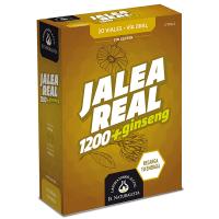 Jalea Real 1200 con Ginseng envase de 20 viales de la marca El Naturalista (Revitalizantes)