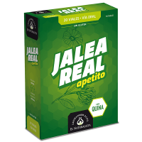 Jalea Real Apetito envase de 20 viales de El Naturalista (Revitalizantes)