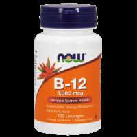 Vitamina B-12 1000 mcg envase de 100 pastillas de Now Foods