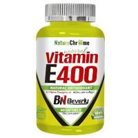 Vitamina E400 envase de 60 softgels de la marca Beverly Nutrition (Vitaminas)