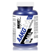 AAKG 1160mg envase de 100 cápsulas del fabricante Best Protein (Arginina)