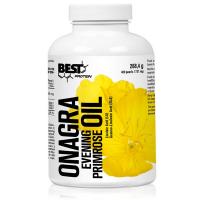 Aceite de Onagra 715mg envase de 400 softgels del fabricante Best Protein