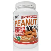 Crema de Cacahuete 100% envase de 1 kg de Best Protein (Cremas de Cacahuete)