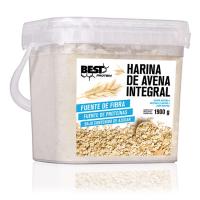 Harina Integral de Avena de 1900g del fabricante Best Protein (Harina de Avena Dulce)