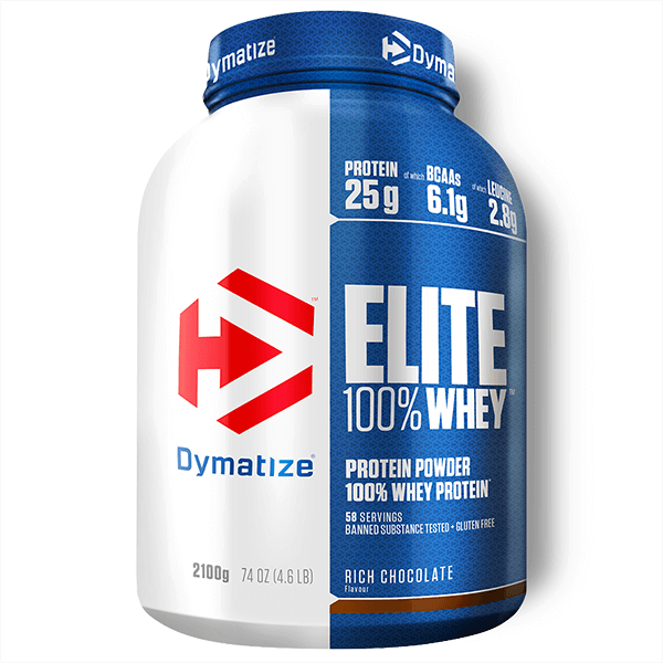 Elite Whey de 2,1 kg del fabricante Dymatize (Proteina de Suero Whey)