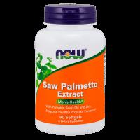 Saw Palmetto 80mg envase de 90 softgels de la marca Now Foods (Antioxidantes)