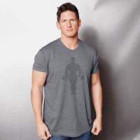 Camiseta Faded Joe Supersoft Tri-Blend [Golds Gym]