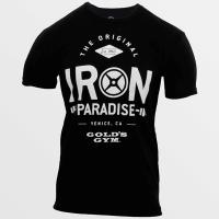 Camiseta Iron Paradise [Golds Gym]