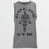 Camiseta sin Mangas Muscle Joe Cutoff de Gold's Gym