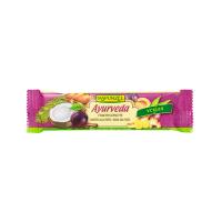 Barrita de Fruta Ayurveda Rapunzel envase de 40g del fabricante Biocop (Barritas Energéticas)