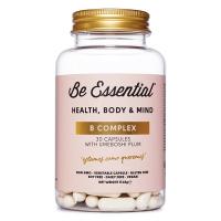 B Complex envase de 30 cápsulas del fabricante Be Essential (Vitamina B)