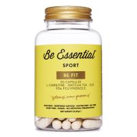 Be Fit envase de l-carnitina, te matcha, q10 del fabricante Be Essential (L-Carnitina)