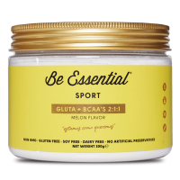 Gluta + BCAA 2:1:1 envase de 300g de Be Essential (BCAA + Glutamina)