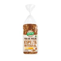 Pan de Molde de Espelta Integral con Avena de 400g de Biocop (Panaderia Dietetica)