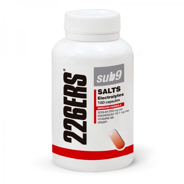 Sub9 salts electrolytes - 100 capsules