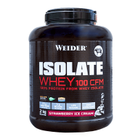 Isolate Whey 100 CFM de 2kg de Weider (Proteína de Aislado de Suero Isolate)
