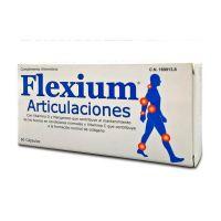 Flexium Articulaciones envase de 60 cápsulas de la marca Pharma OTC (Formulas Mejoras Articulares)