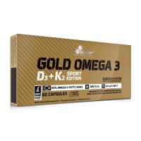 Gold Omega 3 D3+K2 Sport Edition de 60 cápsulas del fabricante Olimp Sport (Fuente Animal)