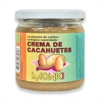 Crema de Cacahuete de 330g de la marca Monki (Cremas de Cacahuete)