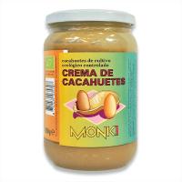 Crema de Cacahuetes envase de 650g de Monki (Cremas de Cacahuete)