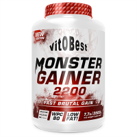 Monster Gainer 2200 de 3,5 kg de VitoBest (Ganadores de Peso con proteína)