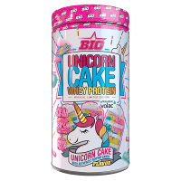 Unicorn Cake Whey Protein envase de 900g de BIG (Proteina de Suero Whey)