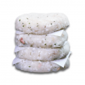 Bandeja de 4 Hamburguesas de Merluza Frescas de la marca Diet Premium (Alimentos Frescos Diet Premium)