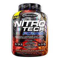 Nitro Tech Power envase de 1,8 kg del fabricante Muscletech (Proteina de Suero Whey)