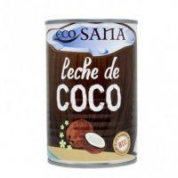 Leche de Coco Bio de 400ml de la marca EcoSana (Bebidas Vegetales)