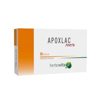 Apoxlac Forte envase de 20 cápsulas de la marca Herbovita (Probioticos)