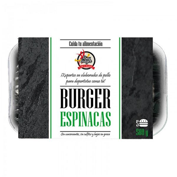 Bandeja de 5 Hamburguesas de 500g de Fitness Burger (Hamburguesas Fit)
