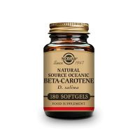 Beta-Caroteno Oceánico envase de 7 mg de la marca Solgar (Vitaminas)