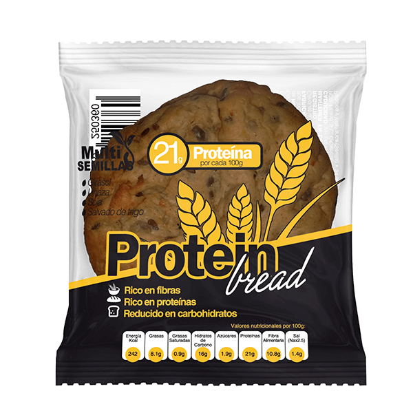 Pan de Proteína Multi Semillas - 75g [X-Up]