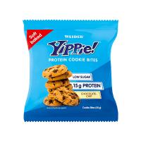 Yippie Protein Cookie Bites envase de 50g de Weider (Galletas Proteicas  Bajas en Calorias)