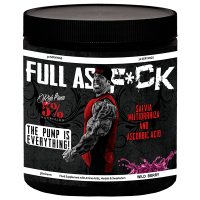 Full as F*ck envase de 385g del fabricante Rich Piana 5% Nutrition  (Óxido Nítrico)