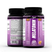 Melatonina envase de 90 comprimidos masticables de Sculpt (Mejora del sueño)