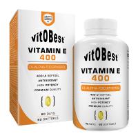 Vitamina E 400 de 60 softgels del fabricante VitoBest (Vitaminas)