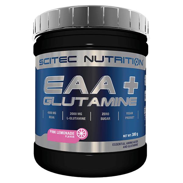 EAA + Glutamina de 300g de Scitec Nutrition (Esenciales e Hidrolizados)