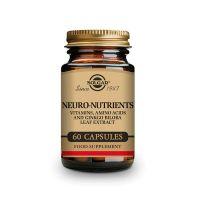 Neuro Nutrientes de 60 cápsulas vegetales de Solgar (Complejos Multivitaminicos)