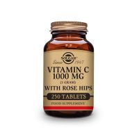Vitamin c 1000mg with rose hips - 250 tablets