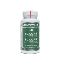 BCAA AB Complex 500mg de 60 cápsulas de Airbiotic AB (BCAA Ramificados)