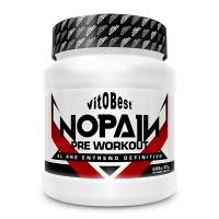 NoPain Pre Workout envase de 375g de VitoBest (Pre-Entrenamiento)