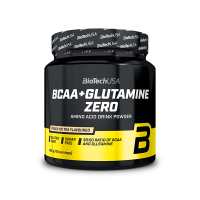 BCAA + Glutamine ZERO envase de 480g de Biotech USA (BCAA + Glutamina)