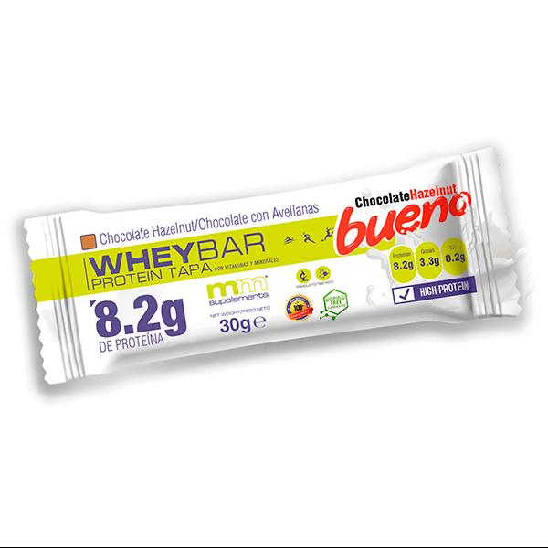 Protein Tapa envase de 30g de la marca MM Supplements (Barritas de Proteinas)