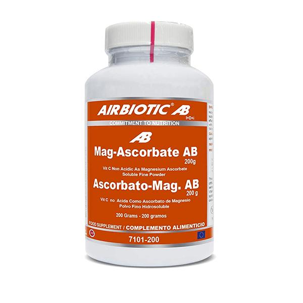 Ascorbato-Mag AB - 200g [Airbiotic AB]