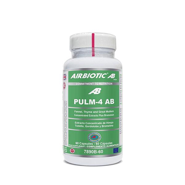 Pulm-4 AB - 60 cápsulas [Airbiotic AB]
