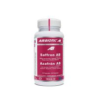 Azafrán AB Complex envase de 60 cápsulas de la marca Airbiotic AB (Anti-Estrés)